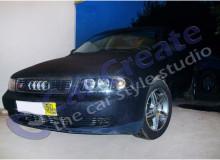 Audi A4 - оклейка кузова пленкой