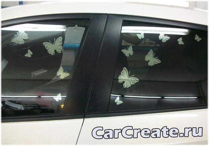 Mazda 3 – арт-тонирование