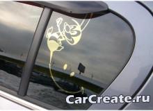 Арт тонировка Opel Astra