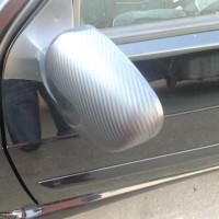 ВАЗ 2114 оклейка пленкой под карбон 3d капот, крыша, багажник, спойлер, зеркала