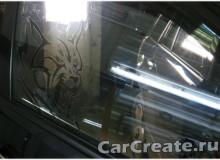 Арт-тонирование передних стекол