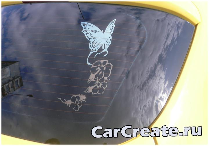 Арт-тонировка Opel Corsa