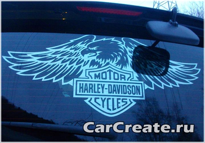 """Арт-тонирование """"Harley-Davidson"""""""