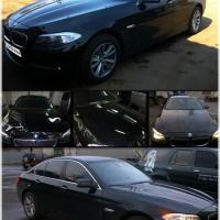 BMW 5 - оклейка капота антигравийной пленкой