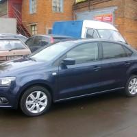 VW Polo Sedan – тонировка по ГОСТу