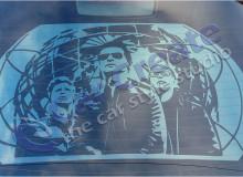 Арт-тонировка Depeche Mode