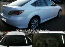 Mazda 6 – художественная тонировка