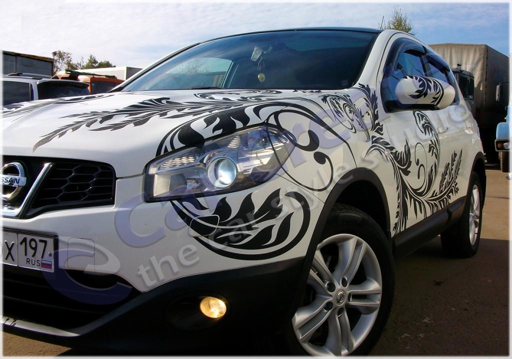 Изготовление наклеек Nissan Qashqai